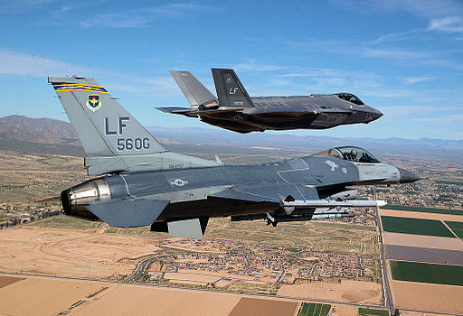 56th Fighter Wing - First F-35 Arrives
