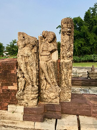 Sirpur Group of Monuments - An excavated Sirpur Shiva temple