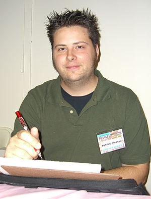 Patrick Gleason (artist) - Patrick Gleason at the 2008 Big Apple Comic Convention.