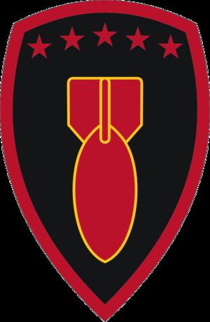 71st Ordnance Group (EOD) - Shoulder Sleeve Insignia