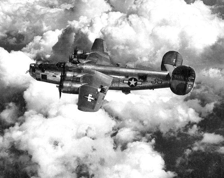 File:725th Bombardment Squadron - B-24 Liberator.jpg
