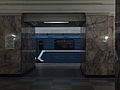 81-717 714 train that goes to the depot at Belorusskaya-radialnaya station (Метропоезд 81-717 714, идущий в депо, на станции Белорусская-радиальная) (5089436976).jpg