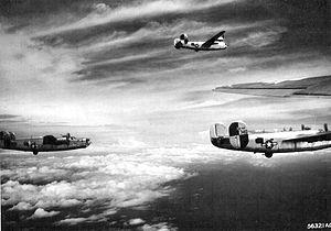 867th Reconnaissance Squadron - B-34 Liberators of the 867th Bombardment Squadron