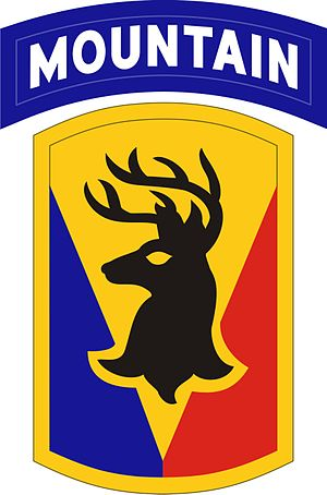 101st Field Artillery Regiment - Image: 86th BCT (MTN)