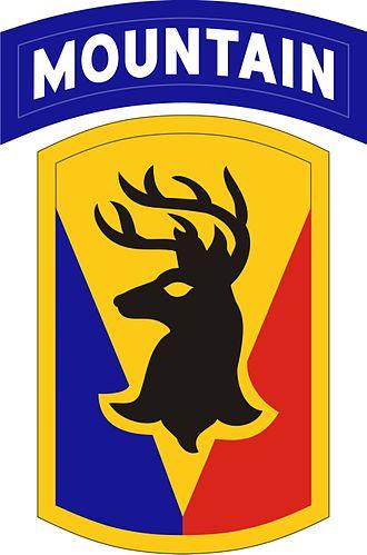 102nd Infantry Regiment (United States) - Image: 86th BCT (MTN)