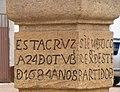 8 Escruitura en monumento Parque de Sáchica Boyacá.JPG