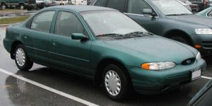 1995-1997 Ford Contour photographed in USA. Ca...