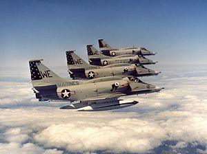 A-4M Skyhawks of VMA-214 in flight in the 1970s.jpg