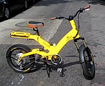 Electric bicycle in Manhattan, New York