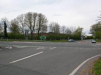 Barton Hill, North Yorkshire - Image: A64 at Barton Hill geograph.org.uk 788203