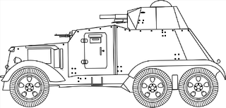 AAC-1937 Armored vehicle used in spanish civil war