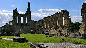 Byland Abbey - Image: A Byland Abbey Nave H1c