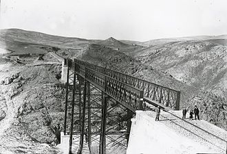 History of Soria - The Soria viaduct (1890)