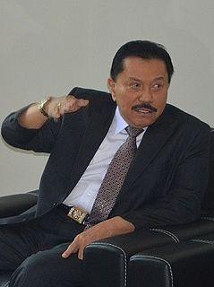 Abdullah Mahmud Hendropriyono Indonesian military person and politician