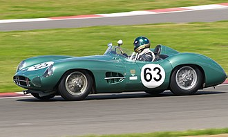 1958 1000 km Nürburgring - Aston Martin DBR1, similar to that driven by Moss and Brabham to victory