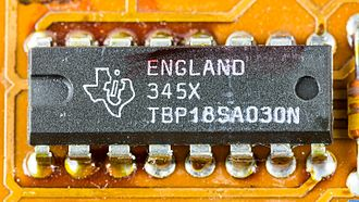 Programmable read-only memory - Texas Instruments PROM  type TBP18SA030N