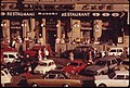 AN EVER PRESENT JUMBLE OF CARS HAS SUBSTANTIALLY REDUCED THE PLEASURE OF OUTDOORS AT THE POPULAR CAFE MOZART - NARA - 551910.jpg