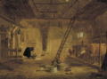 A BARN INTERIOR WITH FOUR COWS.PNG