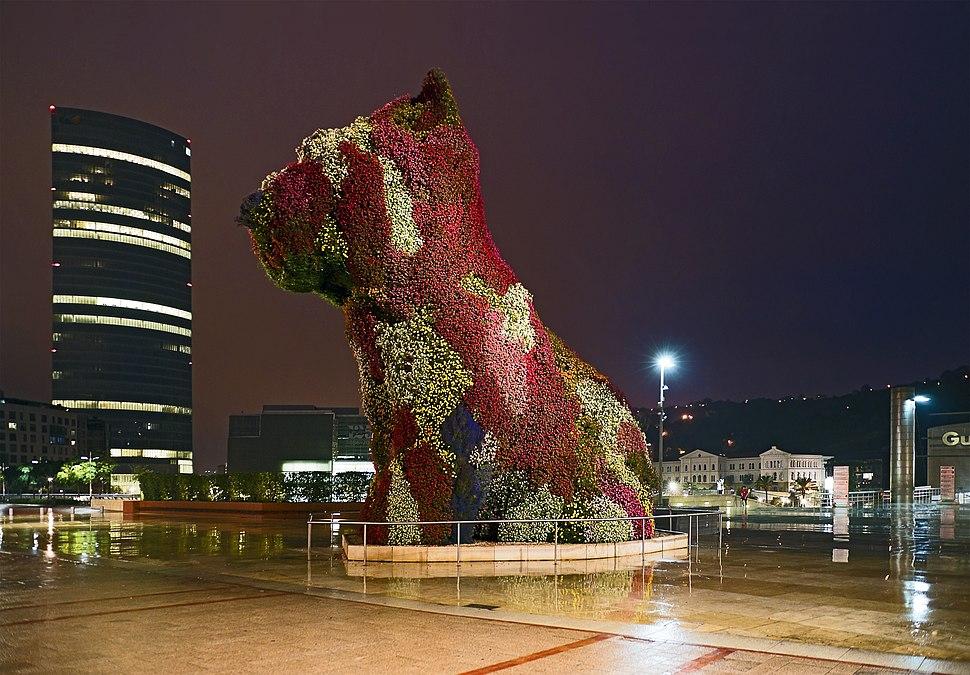 A Bibao - Puppy - de Jeff Koons