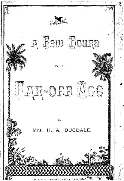 File:A Few Hours in a Far Off Age.djvu