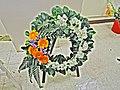 A Round Funeral wreath in Hong Kong.jpg