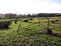 A bent hurdle - geograph.org.uk - 1124272.jpg