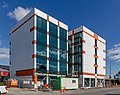 A building at the corner of Colombo and Salisbury Street, Christchurch, New Zealand 08.jpg