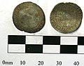 A post Medieval coin; silver threepence of Elizabeth I, 1582 (FindID 235909).jpg