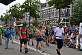 Aankomst deelnemers van de Vierdaagse Nijmegen 2019 op de Sint Anna straat St Annastraat Via Gladiola.jpg