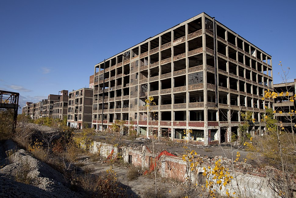 Abandoned Packard Automobile Factory Detroit 200