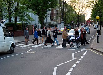 Street - Abbey Road, London.