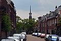 Acaciastraat met op de achtergrond de Koningstoren, Hengstdal, Nijmegen.jpg