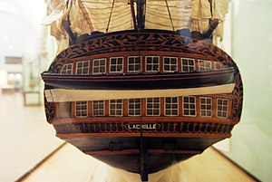 French ship Achille (1803) - Image: Achille mp 3h 9310