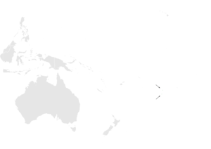 Acrocephalus kerearako distribution map.png