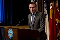 Acting Secretary of the Air Force Eric Fanning, the most senior openly gay appointee in the Department of Defense, speaks at the Defense Department Pride event recognizing Lesbian, Gay, Bisexual and Transgender 130625-D-BW835-213.jpg