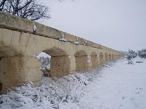 Aqueduct of Albatana - Image: Acueducto de Albatana