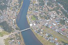 Aerial View of Pacific City, Oregon.JPG