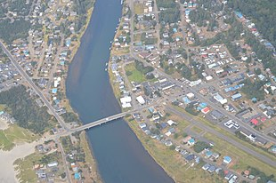 Aerial view of Pacific City
