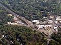 Aerial view of Edgebrook station, September 2019.JPG