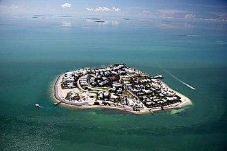 Sunset Key - Sunset Key is located a few hundred yards west off the island of Key West, Florida