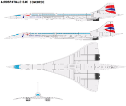 Aerospatiale BAC Concorde by bagera3005.png
