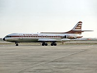 SE-210 Caravelle 10B3 компании Sterling Airways