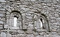 Aghowle Church East Windows Exterior 2016 09 11.jpg