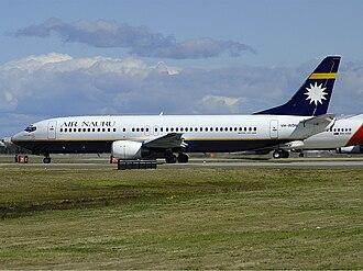 Nauru Airlines - An Air Nauru Boeing 737-400 at Sydney Airport, Australia (2003)