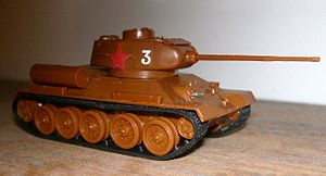 Airfix - 1:76 scale T-34/85