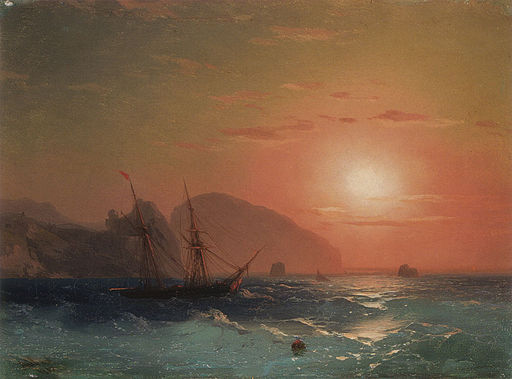 Aivasovsky Ivan Constantinovich View Of The Ayu Dag Crimea