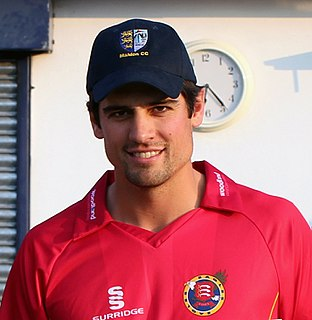 Alastair Cook English cricketer