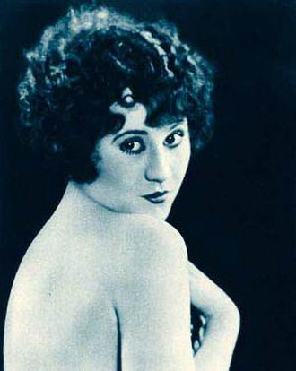 Alberta Vaughn - Publicity photo of Vaughn from Stars of the Photoplay (1924)