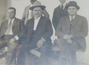 Alejo Bay - Alejo Bay, Alvaro Obregon and Plutarco Elias Calles time after the Battle of Agua Prieta
