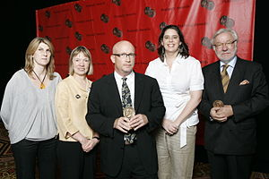 Taxi to the Dark Side - Alex Gibney and the crew of Taxi to the Dark Side at the 67th Annual Peabody Awards